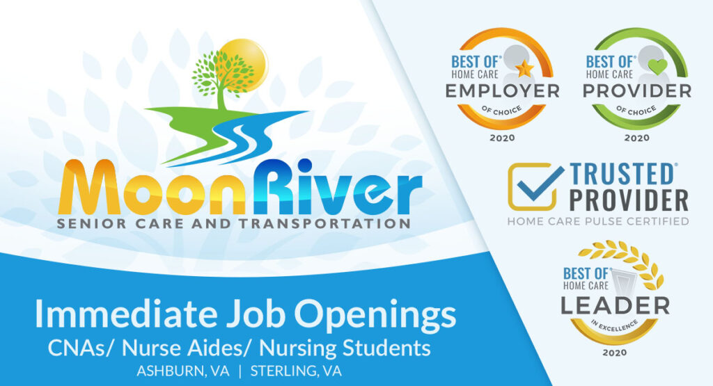 Immediate Part Time, Full Time and flexible prn shifts available for CNAs, Nurse Aides, Nursing Students in Home Care Settings