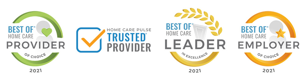Moon River Senior Care Receives 2021 Best of Home Care Leader in Excellence Award